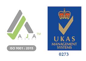 Grafik AJA Registrars ISO 9001